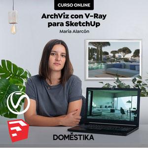 Curso Visualización arquitectónica con V-Ray Next para SketchUp