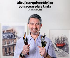 Curso Dibujo arquitectonico con acuarela y tinta