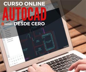 Curso online Aprende Autocad desde cero (26 lecciones en video)