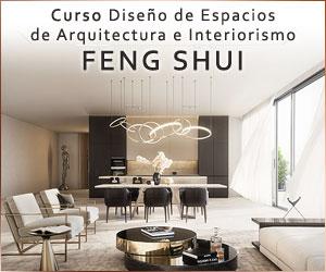 Curso Diseño de Espacios de Arquitectura e Interiorismo Feng Shui