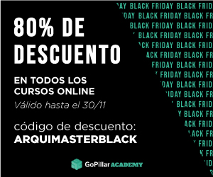 Black Friday Cursos BIM Revit con 80% de descuento