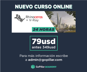 Curso RHINOCEROS + V-Ray