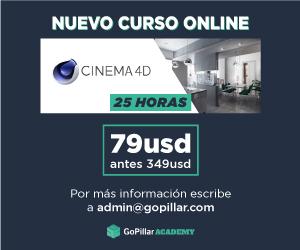 Curso completo de modelado 3D con Cinema 4D y VRay