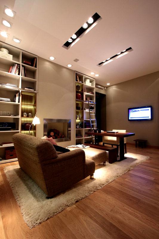Dise o espacio n 18 sala de for Espacio casa online
