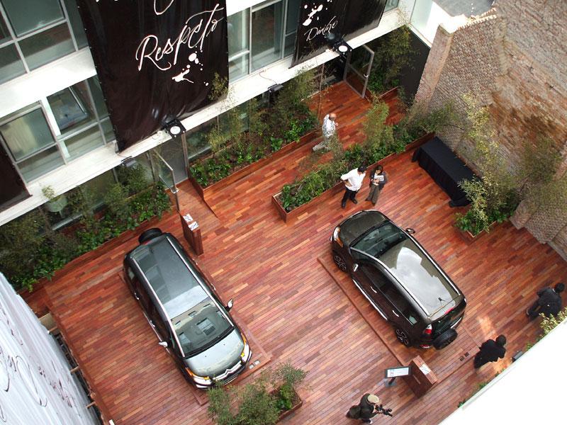 Dise o espacio n 31 patio de la for Planos de casas con patio interior