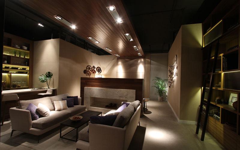 Dise o loft con terraza por estudio for Espacio casa online