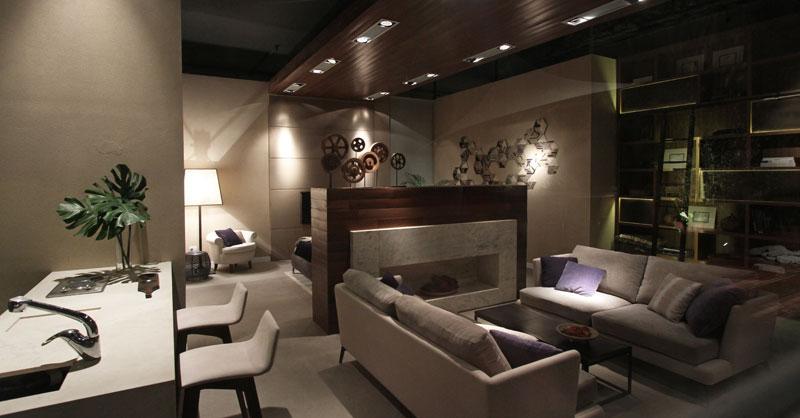 Dise o loft con terraza por estudio for Decoracion de departamentos pequenos barato