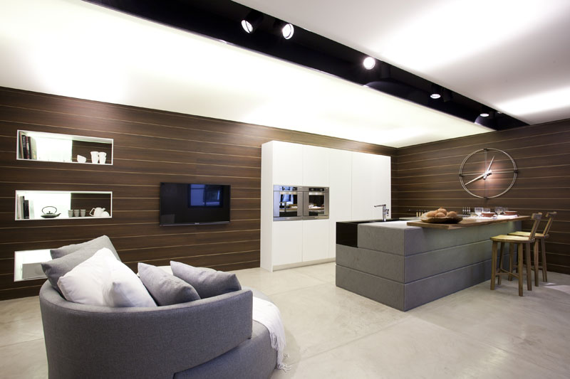 ARQUIMASTER.com.ar | Diseño: Cocina y Estar Living and Cooking por ...