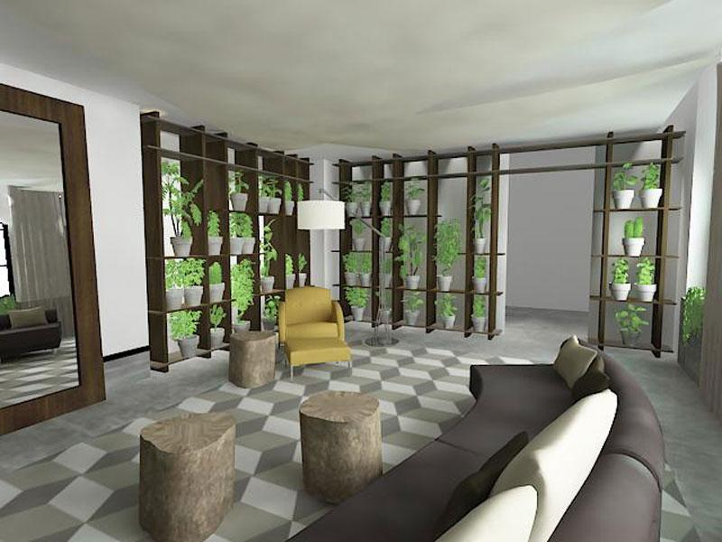 Dise o bomanite presentara un jardin for Disenos de jardin de invierno