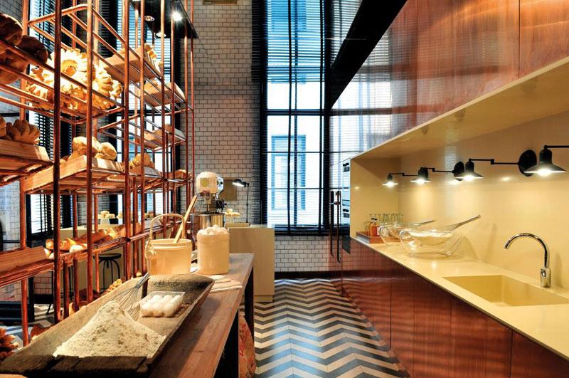 Dise o boulangerie boutique de pan for Diseno actual amoblamientos