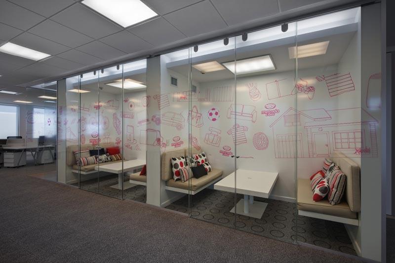 Dise o contract dise las nuevas for Diseno de oficinas arquitectura