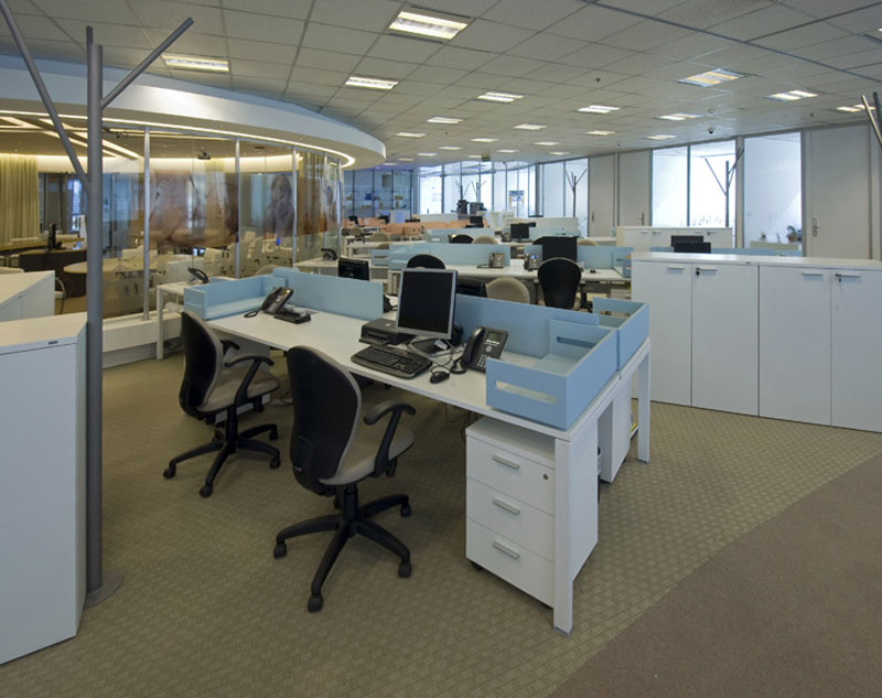 Dise o las nuevas oficinas de danone for Software diseno oficinas