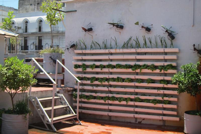 Dise o una huerta vertical en la - Jardin vertical interior ikea rouen ...