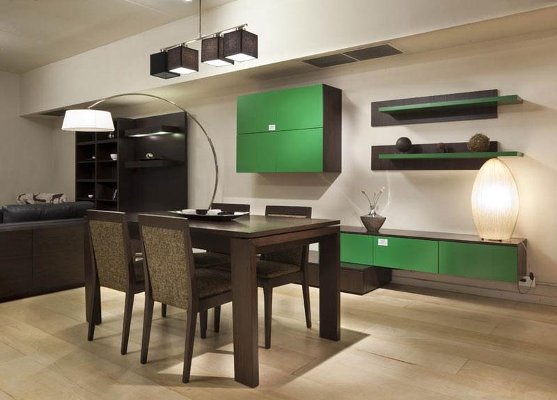 Dise o nueva tendencia en muebles for Muebles de pared para living
