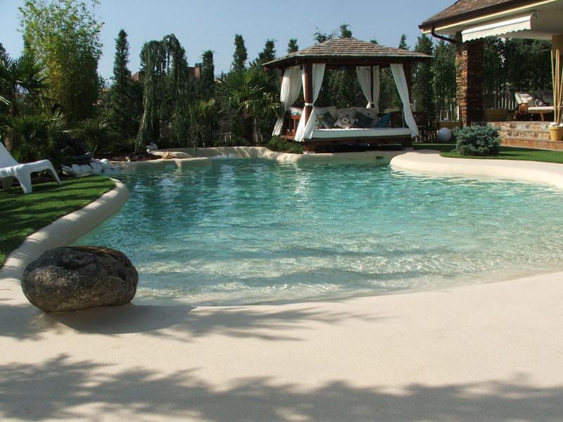 Dise o piscinas de arena la playa for Precio piscina pequena obra