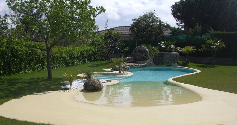 ARQUIMASTER.com.ar | Diseño: Piscinas de arena, la playa en casa ...