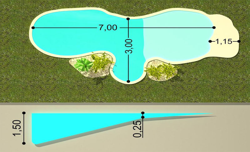 Planos de piscinas planos de piscina en detalles u for Planos de piscinas temperadas