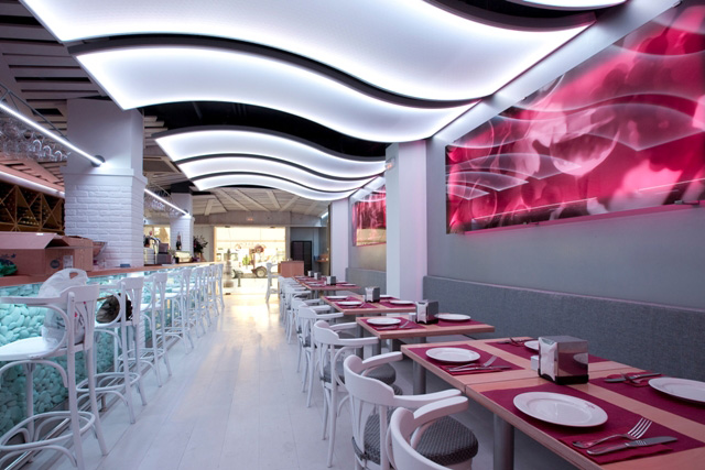 Dise o proyecto de interiorismo y - Decoracion bares modernos ...