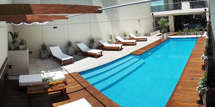 Dise o apart hotel espacia suites for Software diseno piscinas
