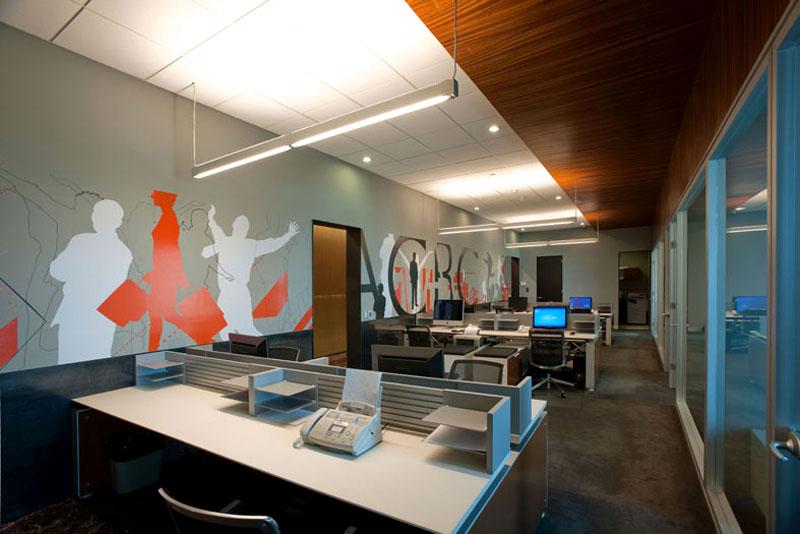 Dise o oficinas acbc torre arcos for Oficinas arquitectura