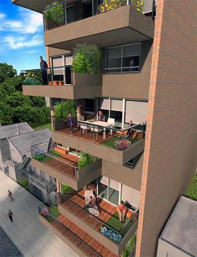 Empresas proyecto buildgreens for Viviendas sobre terrazas