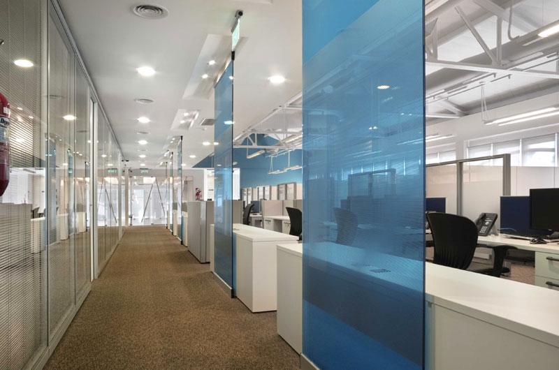 Sector inmobiliario y constructoras for Interior de oficina