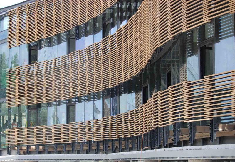 Materiales y tecnolog as nuevos for Parasoles arquitectura