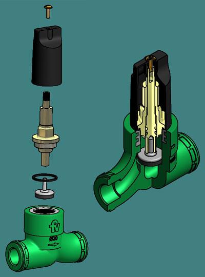 Materiales y tecnolog as nuevas for Accesorios para llaves de agua