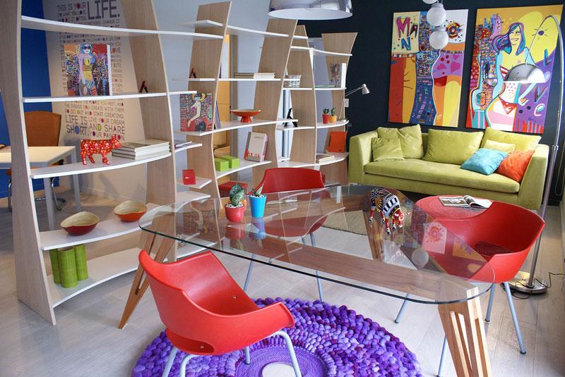 Dise o espacio n 10 mundo pop for Muebles pop art