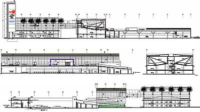 Proyecto centro comercial molina for Arquitectura nota de corte