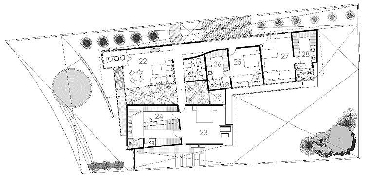 Baño Vestidor Planta: 24 baño vestidor principal 25 dormitorio 1 26 baño vestidor