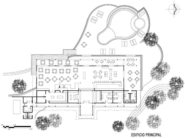 Arquimaster obras y proyectos hotel rodavento valle for Planta arquitectonica de una oficina