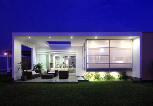 Proyecto casa de playa playa las - Spa modernos ...