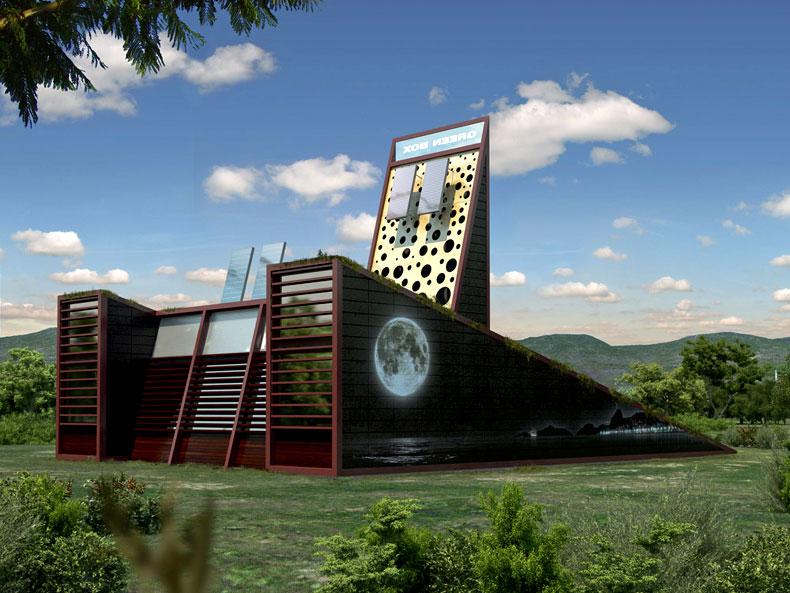 Proyecto green box vivienda jard n for Construccion de casas bioclimaticas
