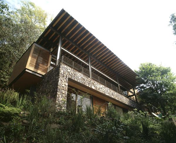 Proyecto casa at valle de bravo for Casas en valle de bravo
