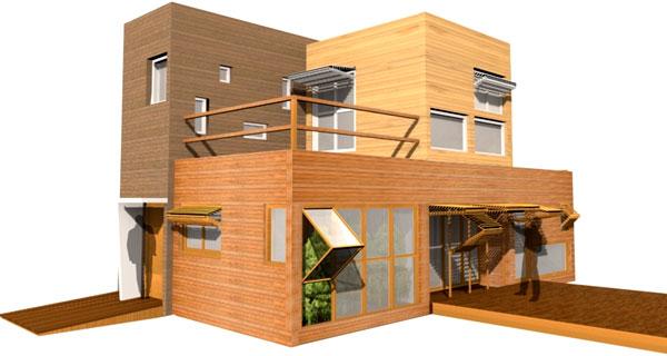 Proyecto m dulos de viviendas Proyectos en madera gratis