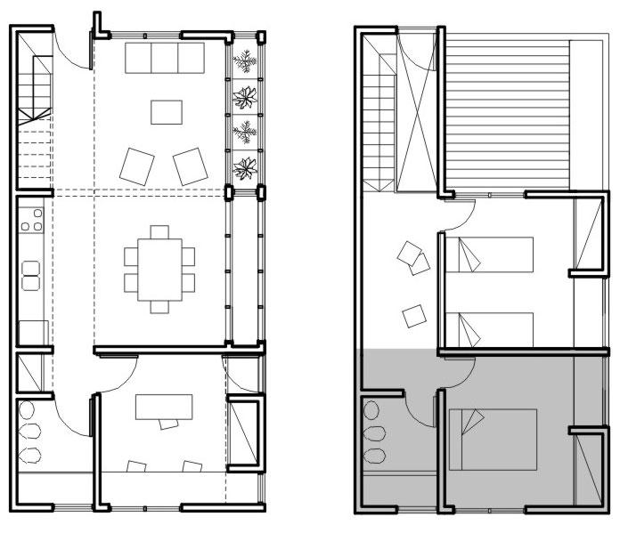 Arq vivienda modulada taringa for Dimensiones arquitectonicas