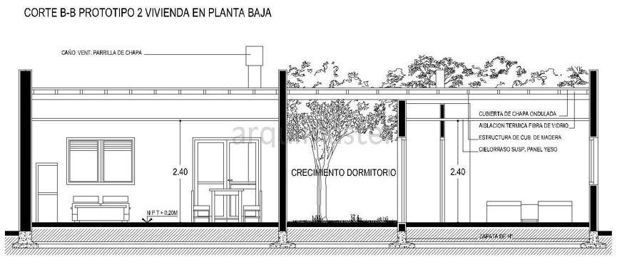 Comienza a construcci n de 166 viviendas en lomas de taf for Cortes arquitectonicos