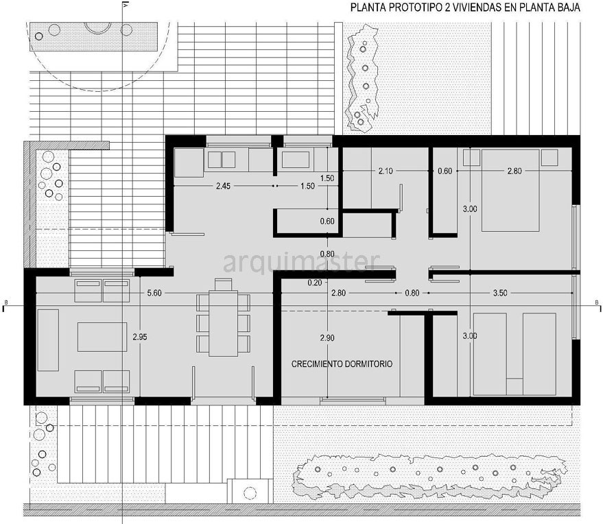 proyecto 196 viviendas agrupadas en ForPlantas De Viviendas