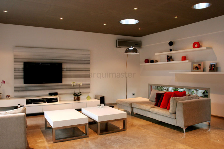 Proyecto casa rc castelar buenos for Disenos de salas y comedores modernos
