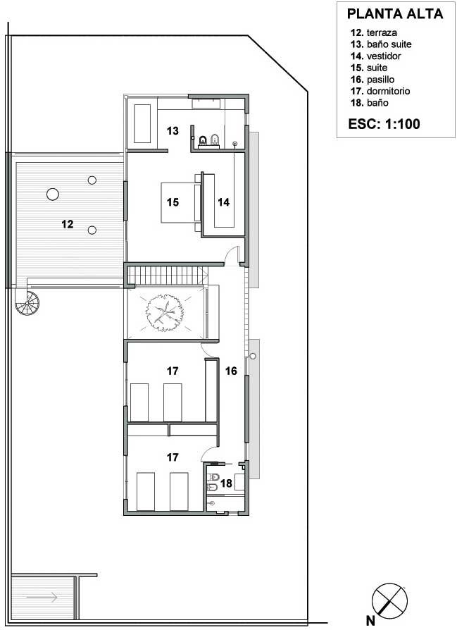 Proyecto casa rc castelar buenos - Planos casas unifamiliares ...