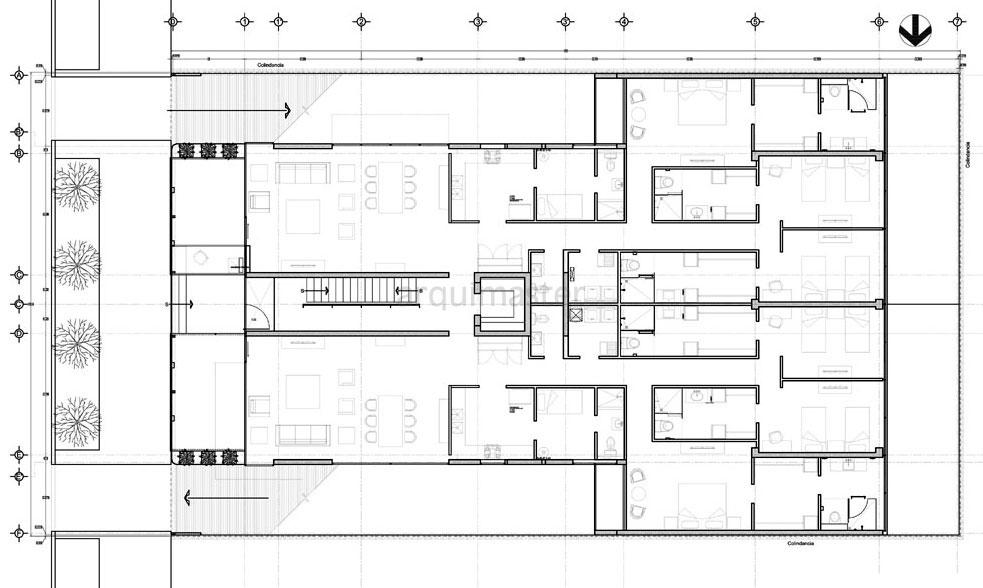 Arquimaster com ar proyecto edificio de departamentos for Hacer planos online