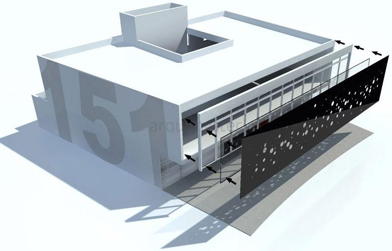 Proyecto estudios 151 sa quer taro - Estudios de arquitectura coruna ...