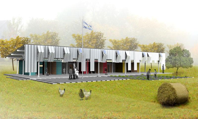 Proyecto anteproyecto de una escuela for Plantas de colegios arquitectura