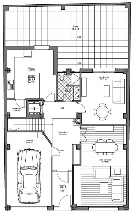 Wron de casa estanterias ikea facilisimo muebles de - Casas unifamiliares planos ...