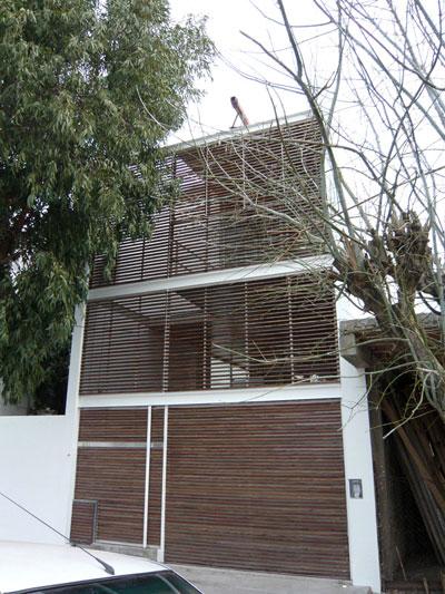 Proyecto casa 5x30 buenos aires - Estudio 3 arquitectos ...
