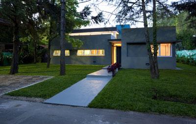 Proyecto casa en country san carlos for Casas minimalistas en argentina