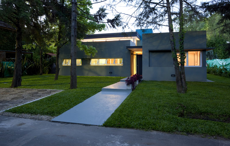 Proyecto casa en country san carlos for Construccion de casas minimalistas en argentina