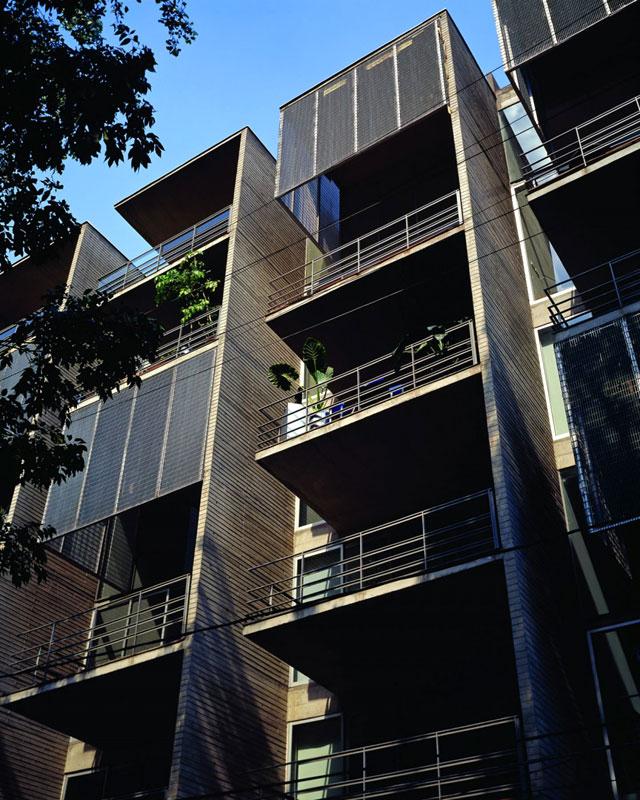 Proyecto edificio amsterdam 315 col for Aulas web arquitectura
