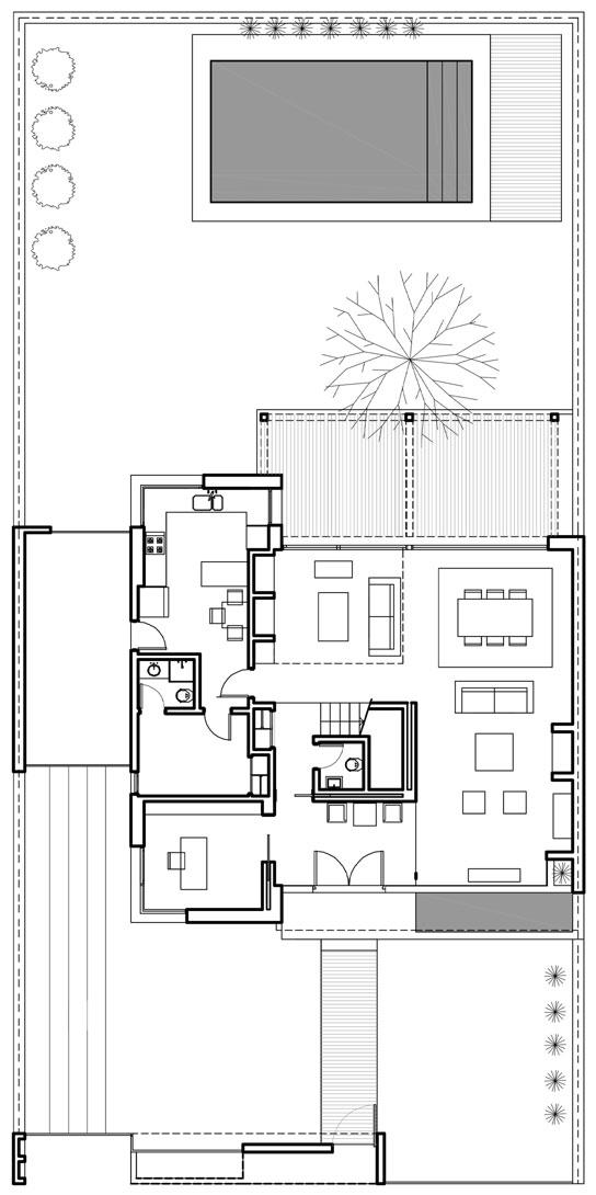 Plano planta alta casa de 2 pisos y 4 habitaciones quotes for Ver planos de casas de una planta